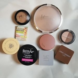 Blush And Bronzers 9 Pieces Lot